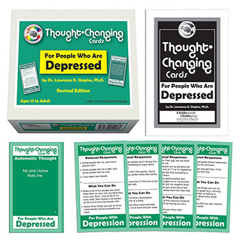 Thought Changing Card Kit for People Who Are Depressed