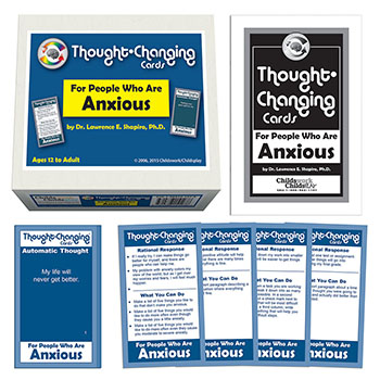 Thought Changing Card Kit for People Who are Anxious