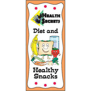 Health Secrets Pamphlet: Diet & Healthy Snacks 25 pack