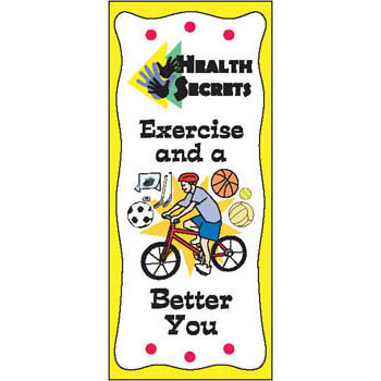 Health Secrets Pamphlet: Exercise and a Better You 25 pack