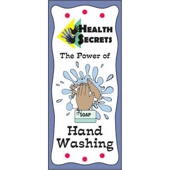 Health Secrets Pamphlet: The Power of Hand Washing 25 pack