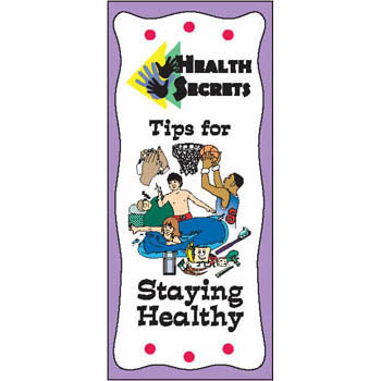 Health Secrets Pamphlet: Tips for Staying Healthy 25 pack