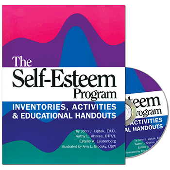 The Self Esteem Program Book with CD