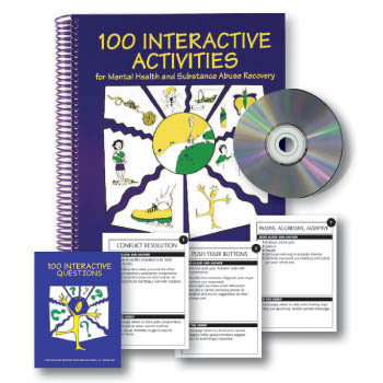 100 Interactive Activities Book & Cards Set