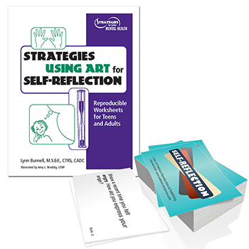 Strategies for Using Art for Self Reflection Book and Cards